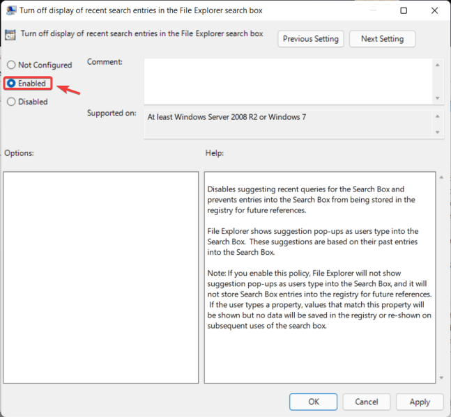 How to Disable File Explorer Search History in Windows 11 2