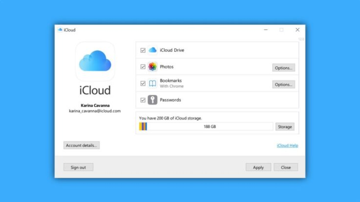 iCloud for Windows 11 gets a New Password Manager App 2