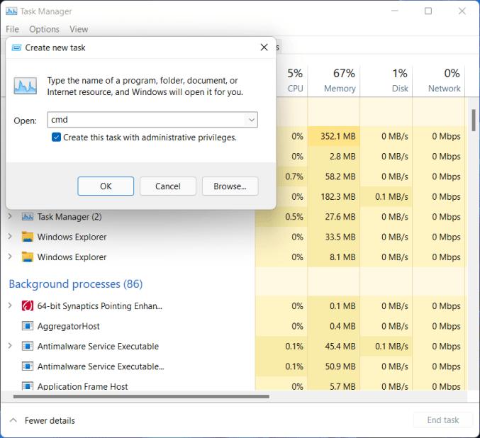 Fixed: Start Menu and Taskbar Issues on Builds 22000.176 & 22449 on Windows 11 4