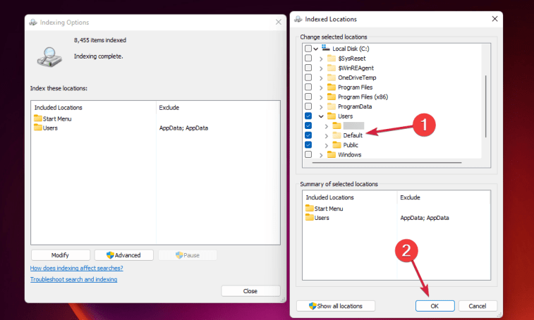 Fixed: Search Bar not Working on Windows 11 3