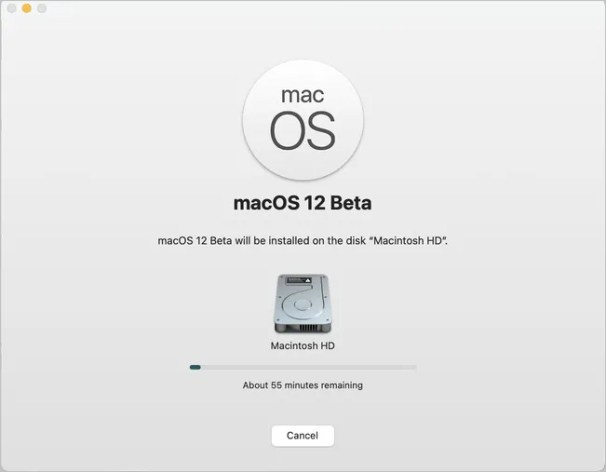 Download macOS Monterey 12 Beta ISO / DMG Files for free 3