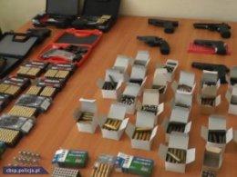 zabezpieczona nielegalna broń i amunicja