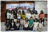 22 mahasiswa Kanda University Jepang peserta Program Bunga 2014 ISP MCE yang akan berlangsung sampai dengan tanggal 8 Maret nanti.