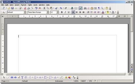 Opening OpenOffice