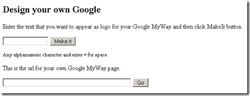 Google My Way