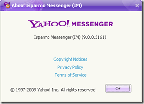about Yahoo Messenger