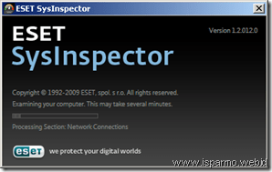 ESET SysInspector About