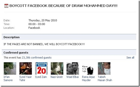 BOYCOTT Everybody Draw Muhammed Day