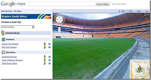 Soccer City Stadium, Johannesburg, AfSel