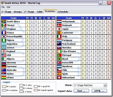 Software Piala Dunia 2010