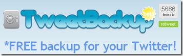 TweetBackup
