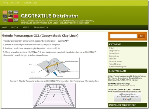 Geotextile website
