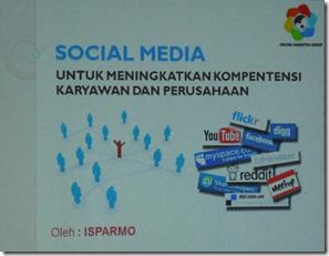 Social Media untuk Meningkatkan Kompetensi Karyawan