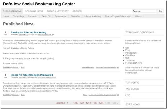 dofollow-social-bookmarking