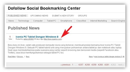 backlink socialbookmarking