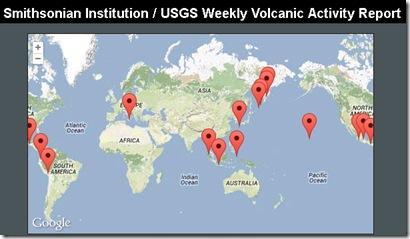 volcano activity report