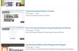 Video Tutorial Belajar Internet Marketing dan SEO