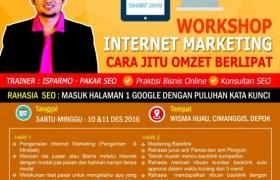Kursus Pelatihan Internet Marketing SEO Depok, Jakarta, Bekasi, Bogor Desember 2016