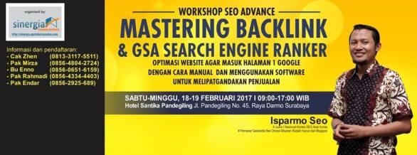 Pelatihan Kursus Workshop SEO lanjutan Surabaya Feb 2017
