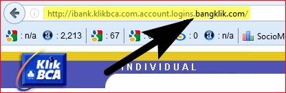 alamat website palsu internet banking bca