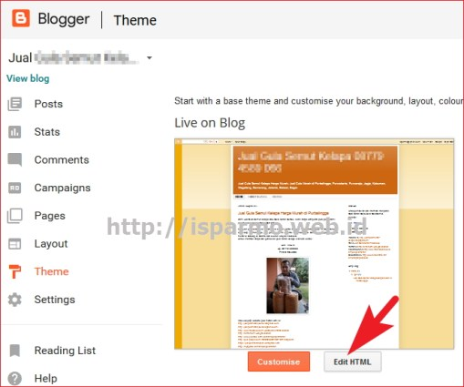 Cara mem verifikasi web blogspot Google Webmaster Tools Pakar Seo