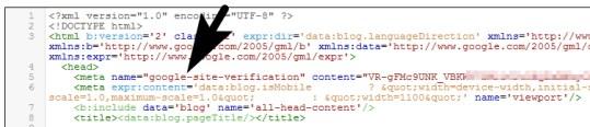 Cara mem verifikasi blogspot Google Webmaster Tools Pakar Seo