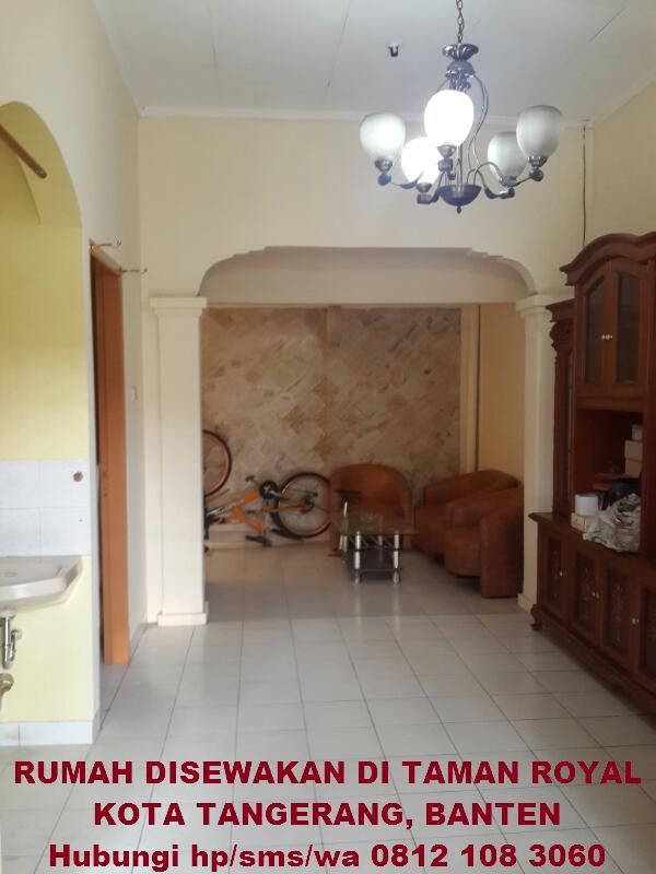 Rumah disewakan dkontrakan full furnish Tangerang Kota