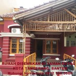 Rumah disewakan dikontrakan Taman Royal Tangerang Kota