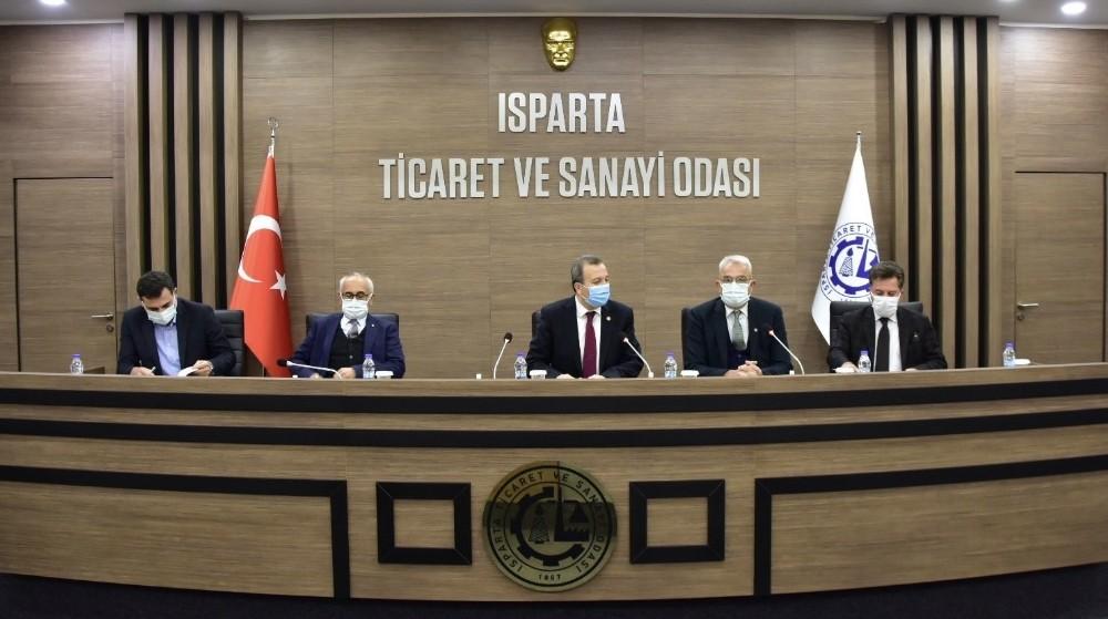 Isparta'da meyvebirlik kurulması için harekete geçildi
