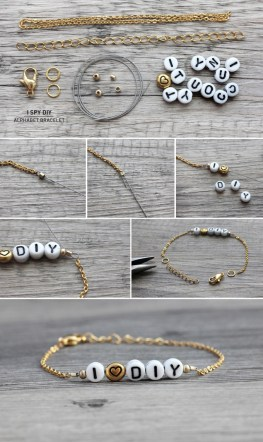 MY DIY | Alphabet Bracelet - I SPY DIY