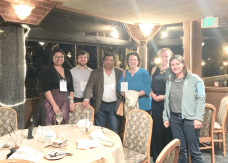 Group photo at the APS Respiration Section Dinner.