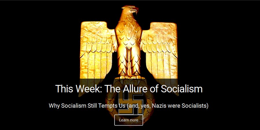 This week on I Spy Radio: The allure of socialism and yes the Nazis were socialists