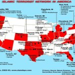Known Islamic training camps in the US