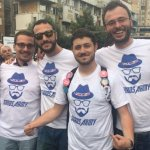 George Soros Army T-Shirts spotted in Macedonia