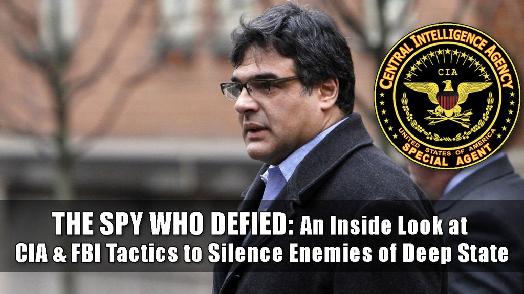John Kiriakou CIA whistle-blower who went to prison when the CIA used the FBI to silence him as a warning and how his case parallels the Mueller investigation
