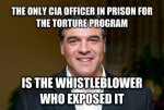 John Kiriakou CIA whistle-blower who went to prison when the CIA used the FBI to silence him as a warning to other whistle-blowers