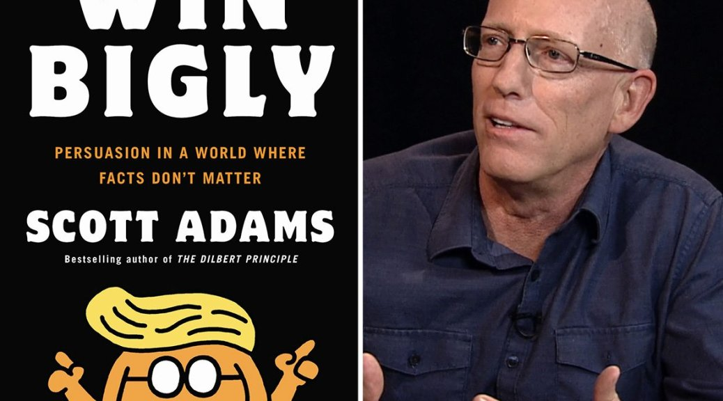 Scott Adams, creator of Dilbert and author of Win Bigly, joins I Spy Radio to talk about persuasion. Twitter @ScottAdamsSays