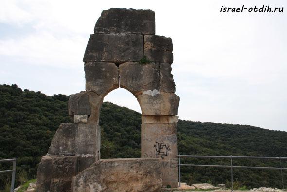 крепость Монфор Израиль фото