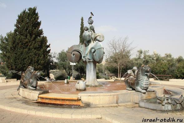 фонтан в Иерусалиме фото