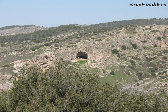 Сталактитовая пещера Бейт Шемеш фото