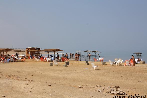 Пляжи на Мёртвом море фотография