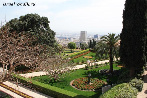 бахайские сады фото