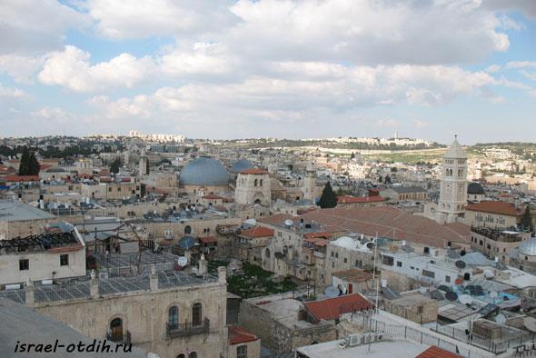 старый город Иерусалим обзорное фото