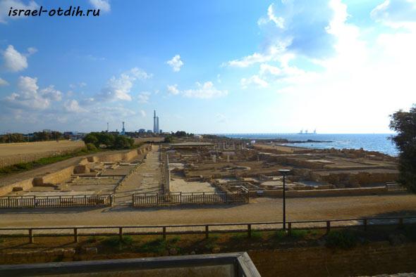 Кейсария Израиль фото