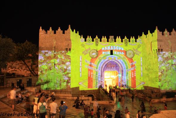 фестиваль огней в иерусалиме