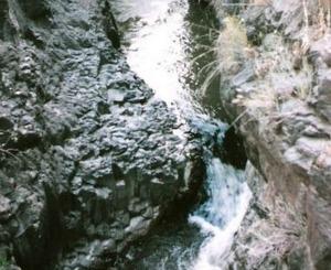 Zavitan is the longest Golan Heights stream. Photo courtesy of Wikipedia