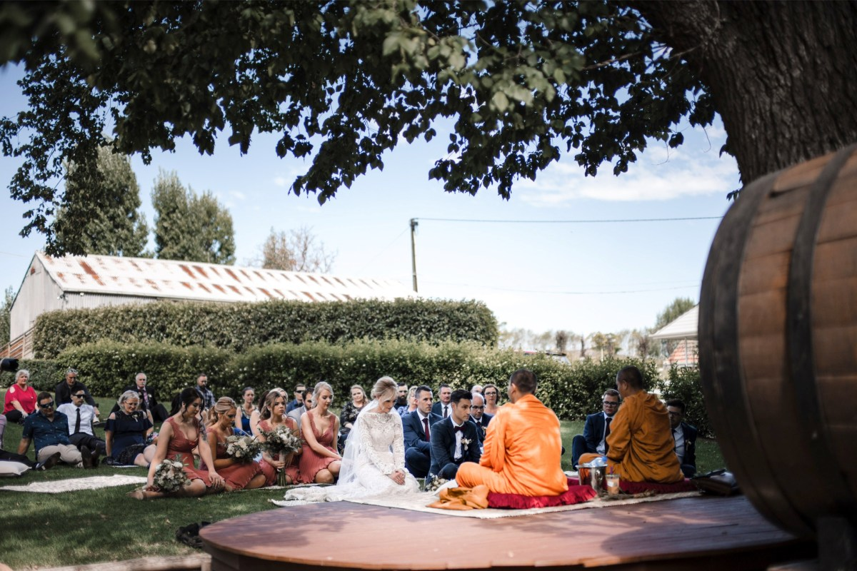 Buddhist Wedding Blessing Adelaide