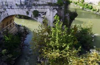 Roma: el puente Emilio o puente Roto