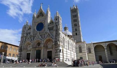 Catedral de Siena: exterior