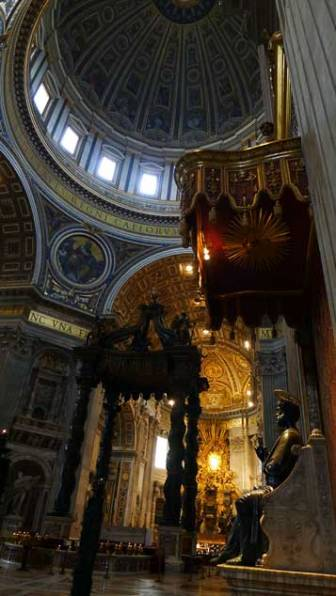 Vaticano: basílica de San Pedro